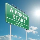Fresh Start Exit Sign
